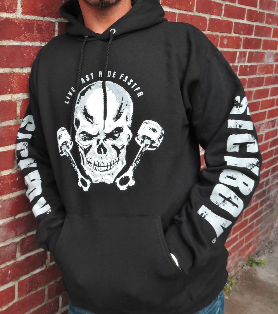 Sick Boy Motorcycles Men's Hoodie Sweatshirts