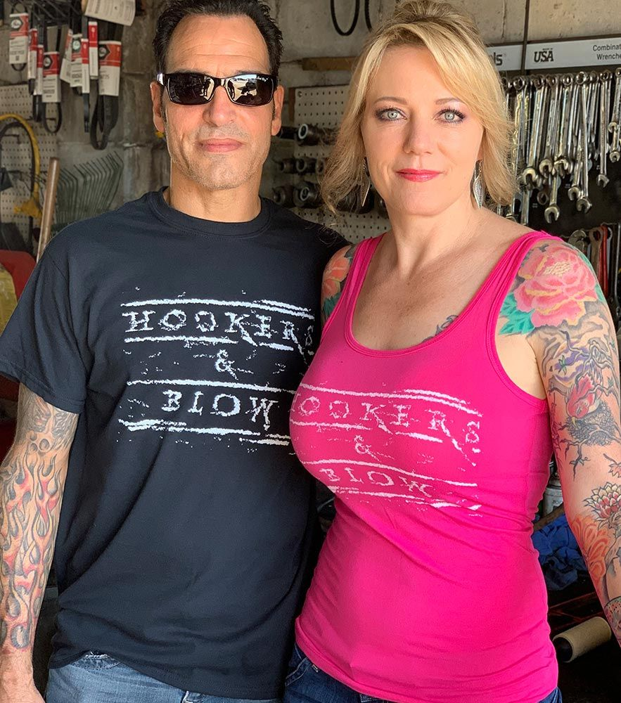 Hookers and Blow Tank Top - Pink or Black