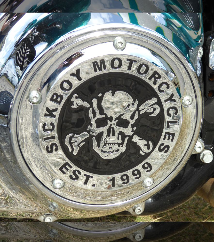 Sick Boy® Chrome and Epoxy Derby Covers
