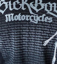 Sick Boy Mother F*&%$#R Long Sleeve T-Shirt - back detail