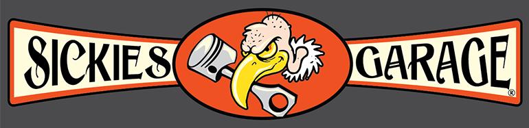sickies garage logo